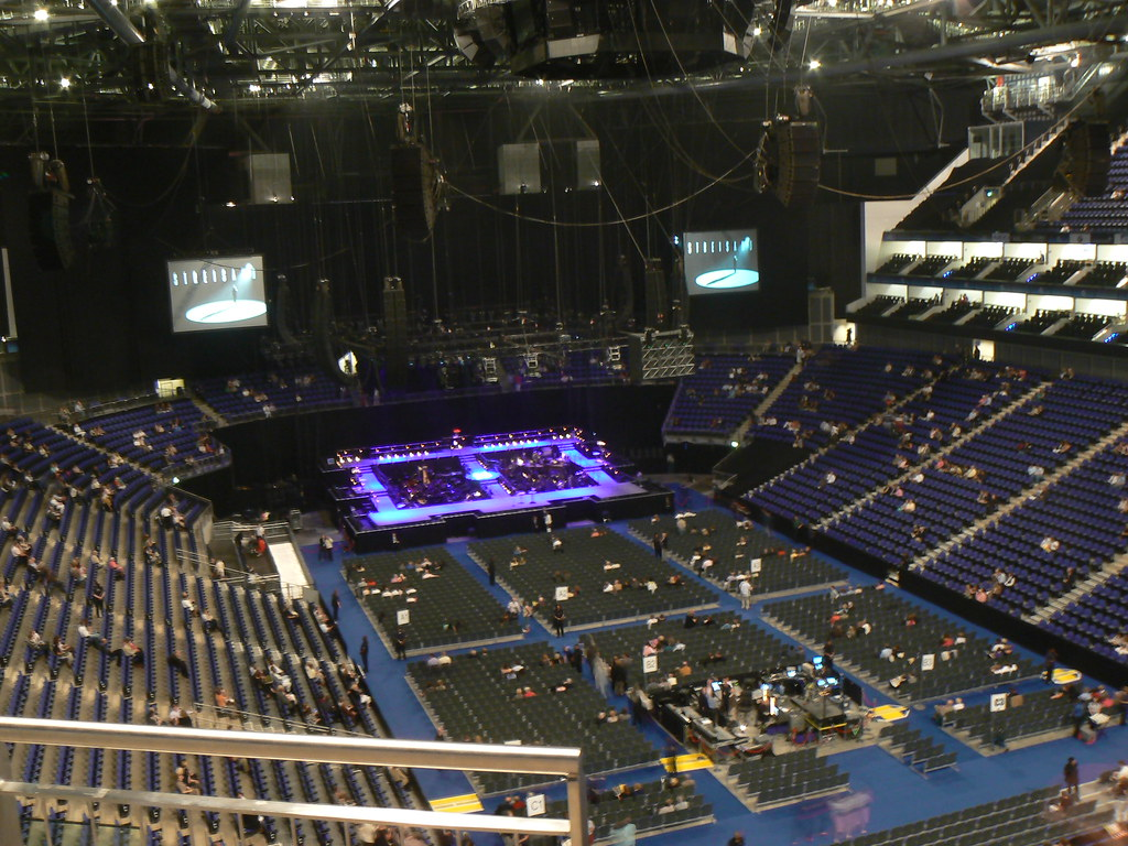 Inside the o2 arena size pics videos all threads for 02 floor seating