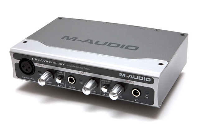 Interface audio M-Audio FireWire Solo