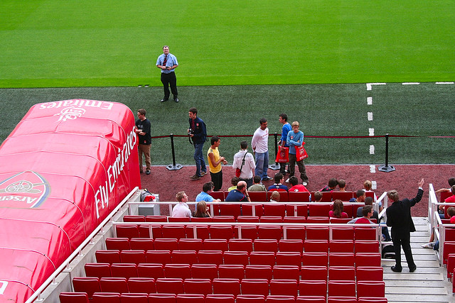Emirates Stadium Tour Guide Emirates Stadium Tour Flickr