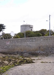 Joyce's Tower from Shore