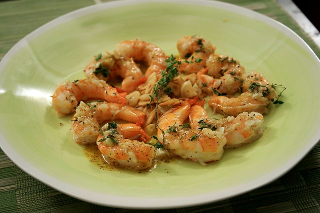 Oven Roasted Shrimp and Toasted Garlic and Red Chile Oil | Flickr ...