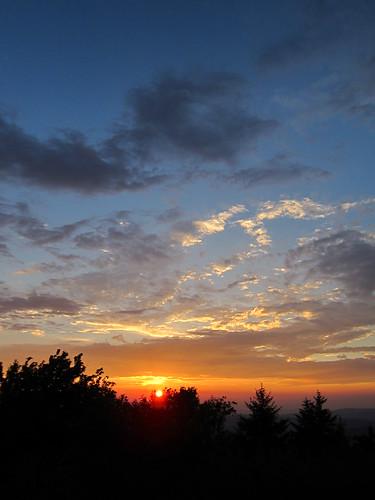 sky sunrise vista appalachiantrail trail:name=appalachiantrail trail:mile=1707