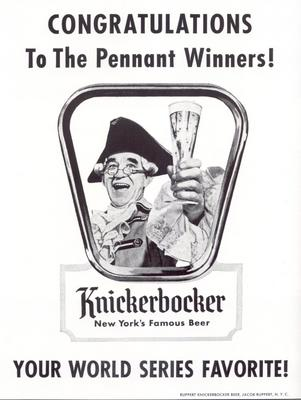 Knickerbocker-1955-world-series