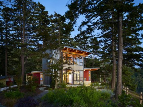 Design Inspiration: An Inviting Timber&Glass Home in Washington : Davis Residence