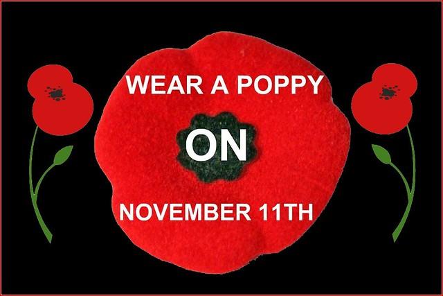 Wear A Poppy 2010 On Black