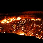 Darvaza Gas Crater - Darvaza, Turkmenistan