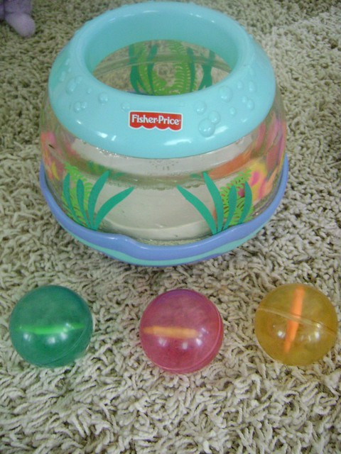 8 fisher price musical fish bowl balls flickr for Fisher price fish bowl