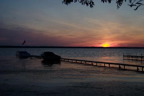 sunset ontario canada keswick