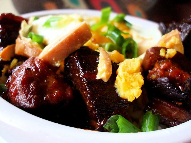 Burmese Red Pork Stew Closer | Flickr - Photo Sharing!