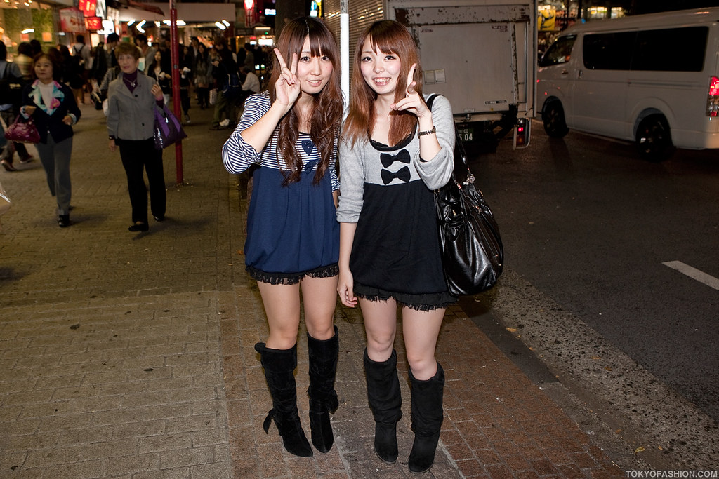 Precisely japanese twins cum