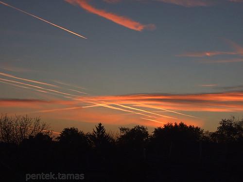 morning sky sunrise finepix reggel égbolt napkelte s6500fd