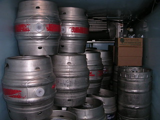 Stacked casks