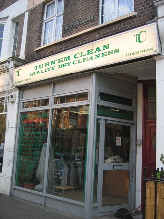 Chiswick: Turn'em Green Dry Cleaners
