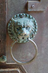 carving, art, door knocker, stone carving,