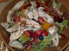 meal, salad, food, dish, cuisine, caesar salad,