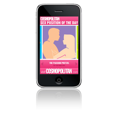 And when Cosmo magazine asks you to take their hugely popular Sex Positions ...