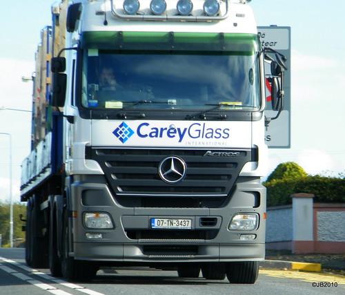 Carey Glass Mercedes Actros Megaspace