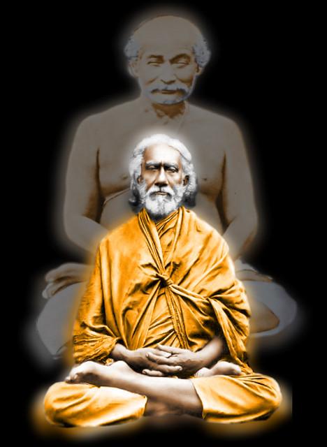 Lahiri Mahasaya & Swami Sri Yukteswar | Flickr - Photo ...