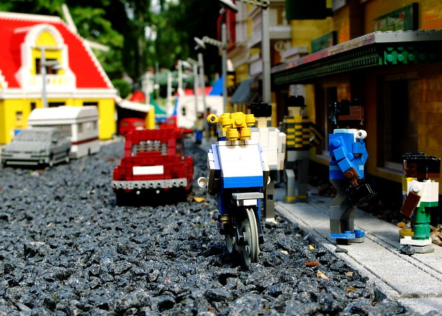 Lego Cycle Chic