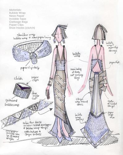 fashion sketch 1