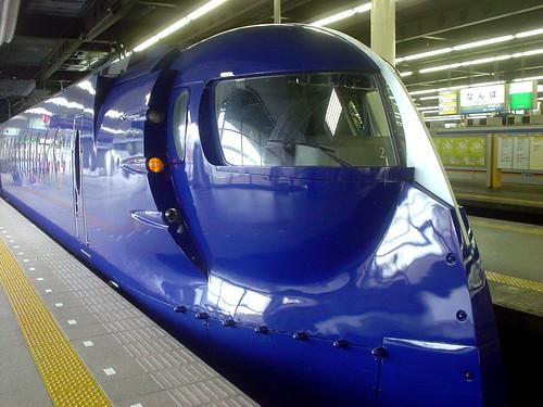 20070923 京都玩第一天 06 南海電鉄 rapi:t 難波駅
