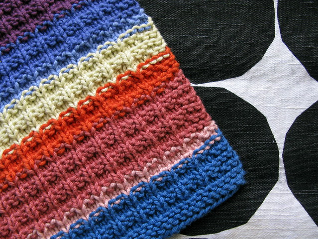 Waffle Knit Dishcloth by Debbie Andriulli Pattern source: ? Flickr - Phot...