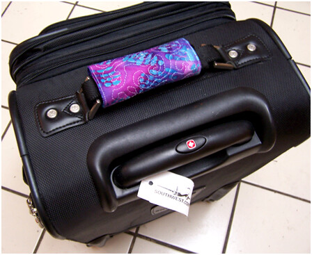 Quilted Luggage Handle Covers Flickr Photo Sharing