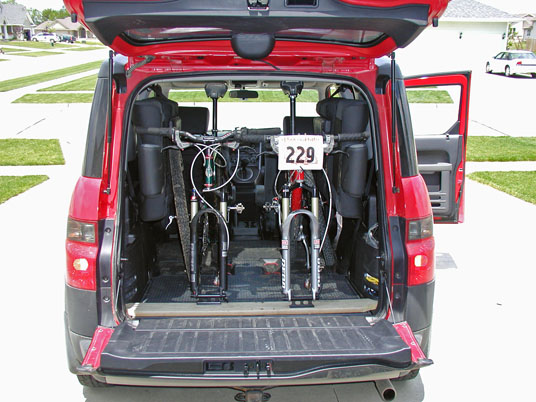 Internal bike rack guy need your help second generation nissan xterra forums 2005 Nissan xterra bike rack interior