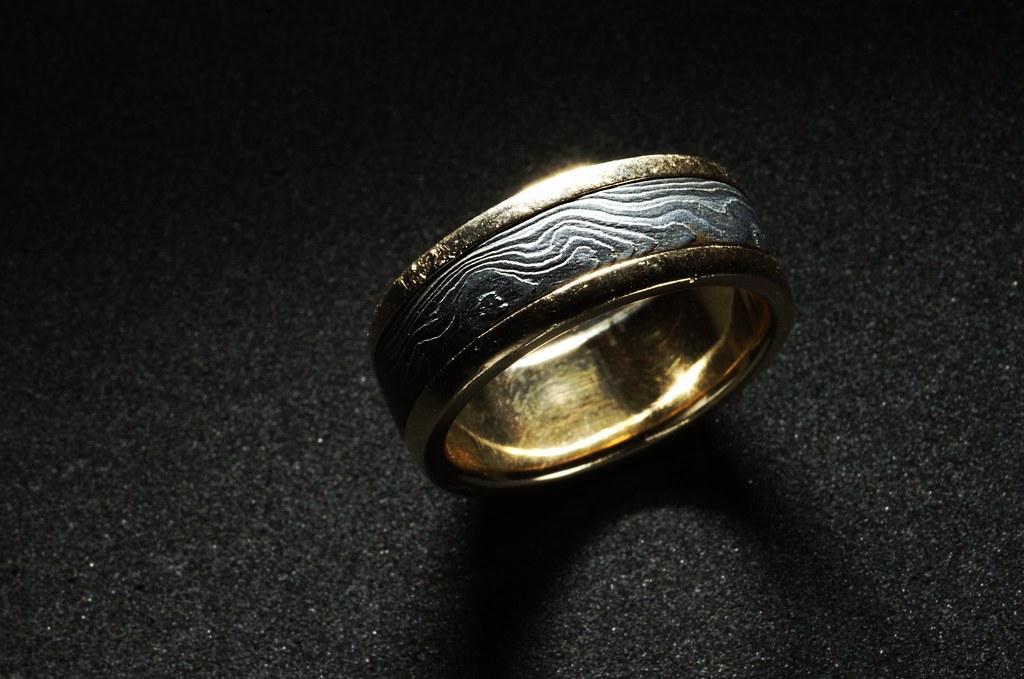 Damascus Steel Ring 126