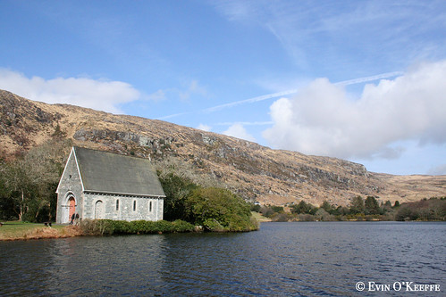Peaceful Saturday View of St. Finbarr's Oratory in Gougane Barra