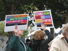 marriage equality signs