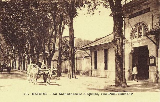 Saïgon - La Manufacture d'Opium, rue Paul Blanchy