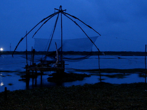 A twilight at Fort Kochi