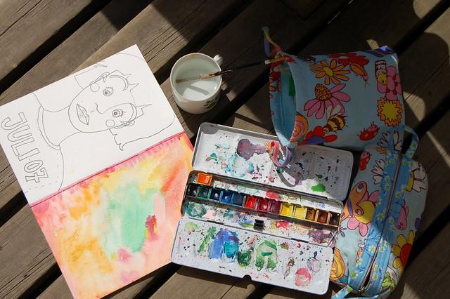 Watercolour me now