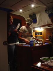 24 hours aboard a Beneteau 323