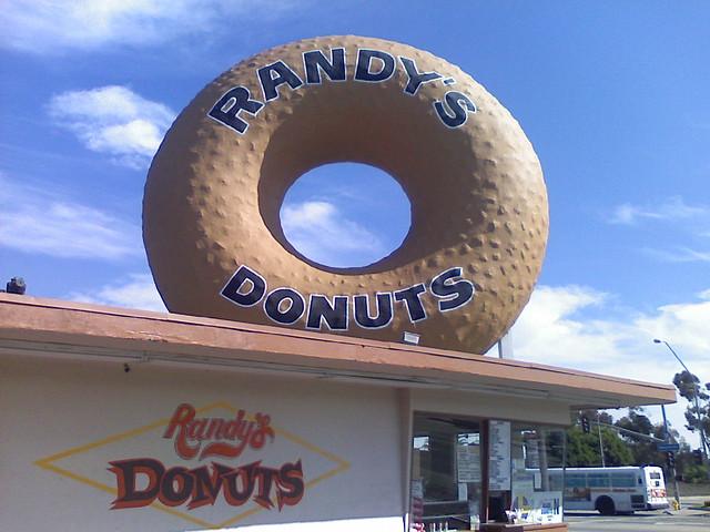 Randy's Donuts, Inglewood CA