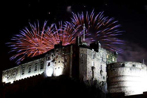 St. Andrew's Day fireworks