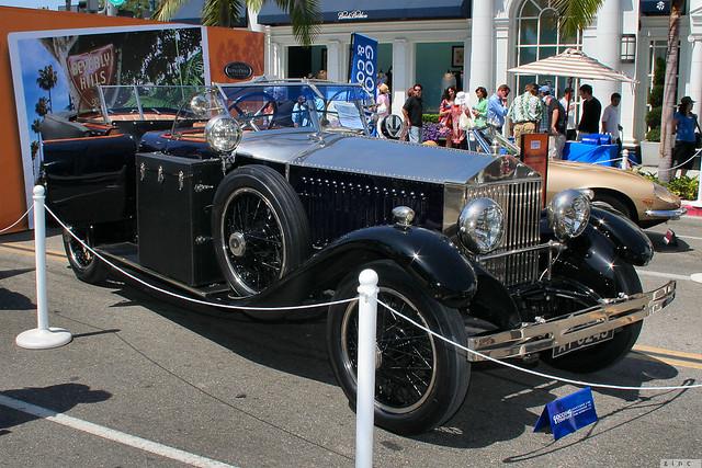1926 Rolls Royce Phantom I Torpedo Phaeton - fvr