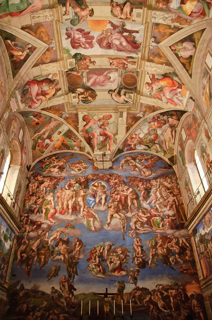 Interior Of The Sistine Chapel Flickr Photo Sharing
