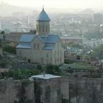 St. Nicholas Church, Narikala Fortress - Tbilisi, Georgia