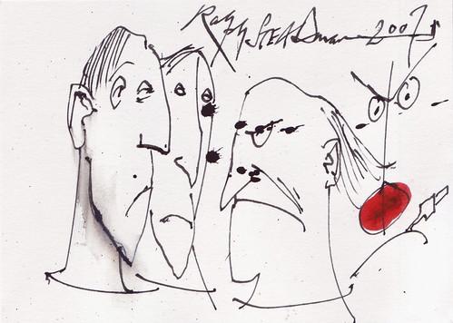 British: Ralph Steadman