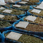 Herbal Teas at Gulustan Market - Ashgabat, Turkmenistan