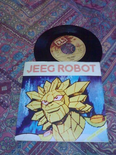 45 giri: Jeeg Robot