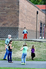 cool pre schooler nick, dancing by himself at the sc…