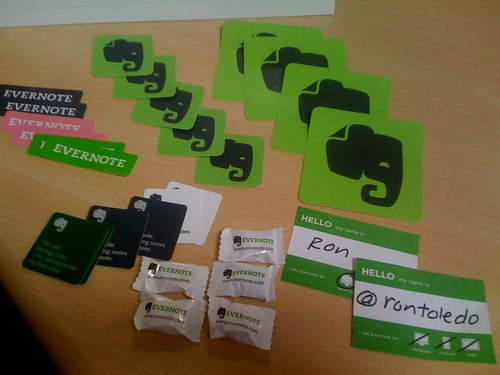 Evernote Meetup Pack
