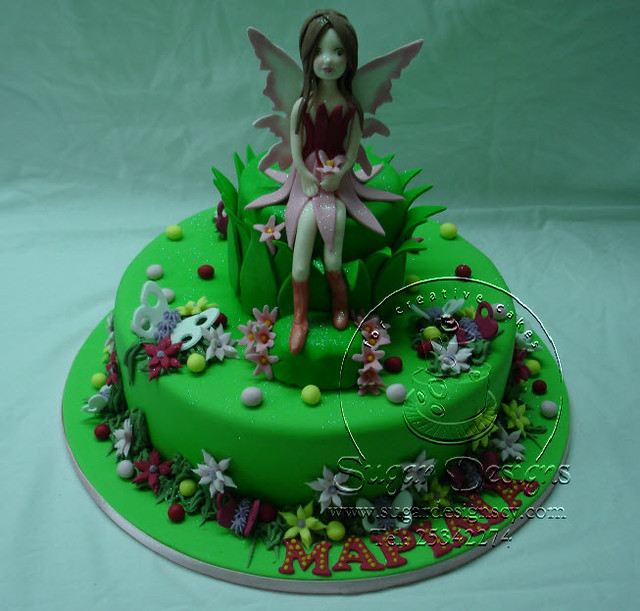 Garden fairy cake Flickr Photo Sharing