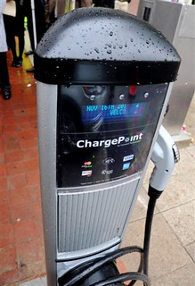 New Public Curbside Charging Station