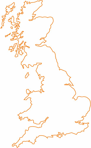 Great-Britain-map-outline | Flickr - Photo Sharing!