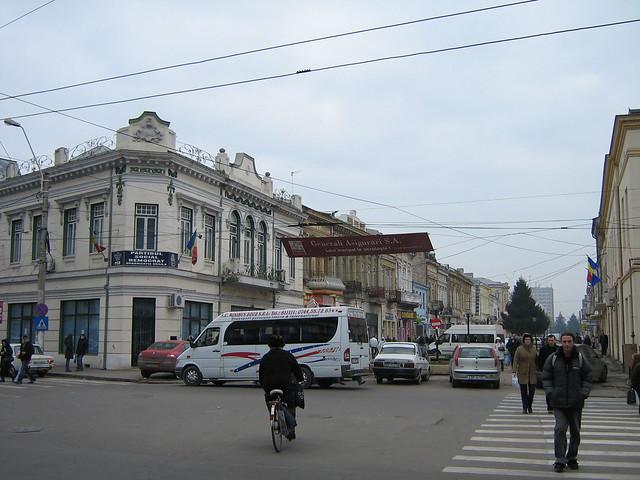 Mihai Eminescu Street, Braila, Romania