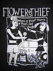 1991 Flower Thief t-shirt